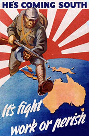 invasión japonesa de australia