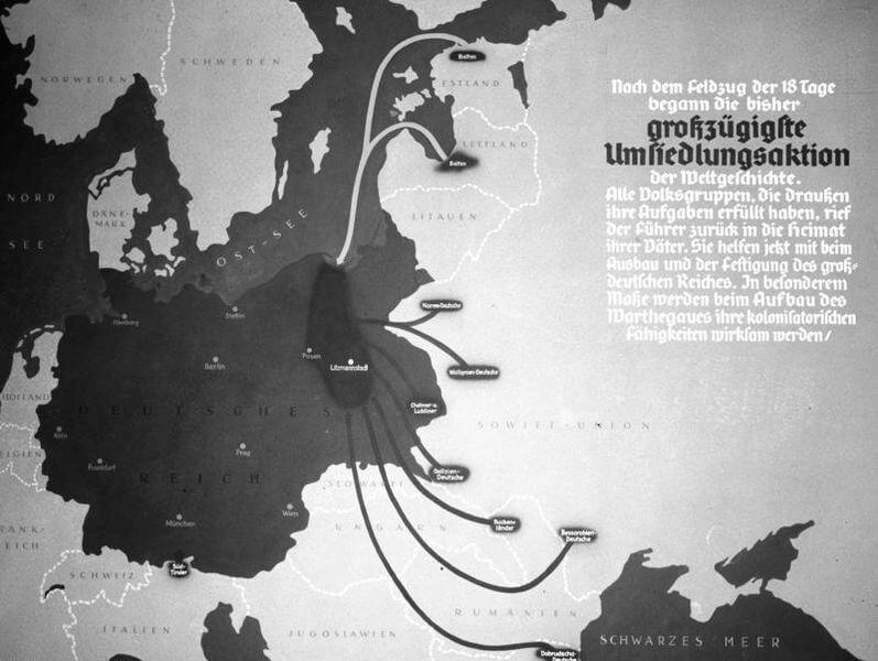 planes de expansión (Lebensraum) del Tercer Reich