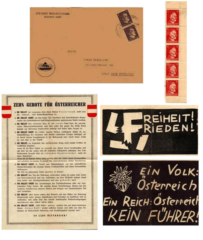 Propaganda estándar empleada durante la Operation Conrnflakes.